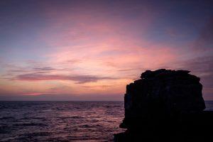 Pulpiot Rock at dusk