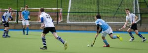 Hockey goalmouth action