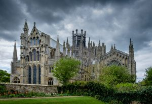 Ely Cathedral eastern elevevation