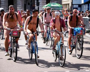 Naked riders