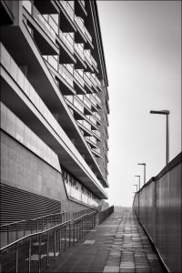 A new block of flats